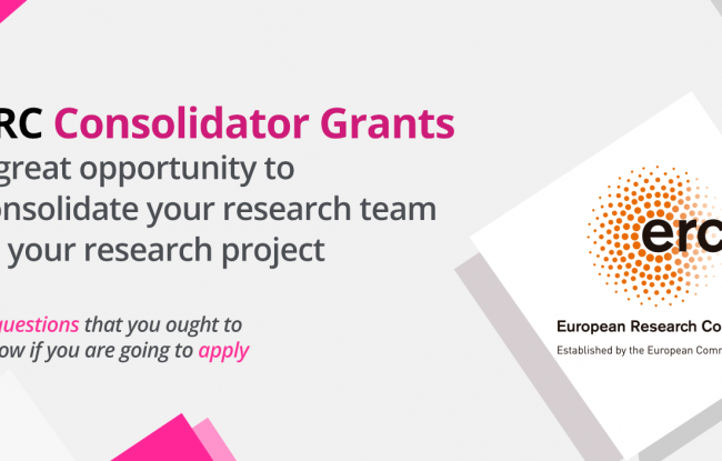 ERC Consolidator Grants