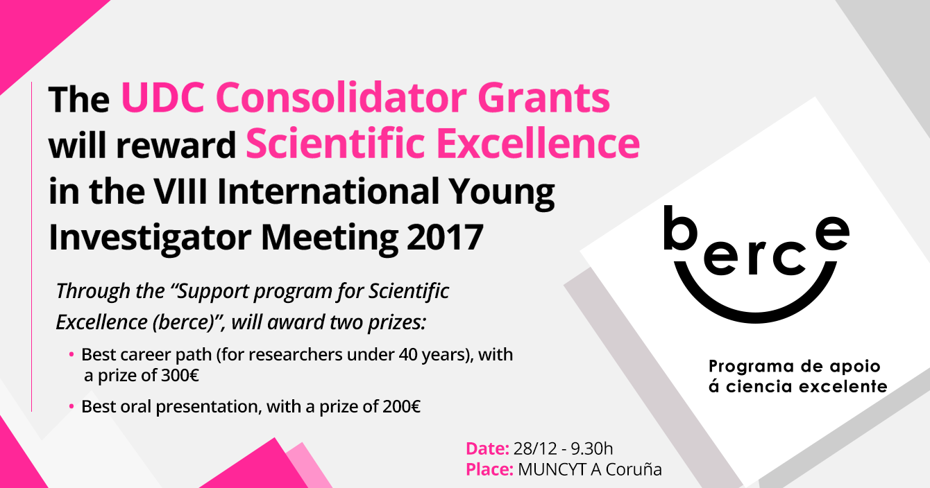 The UDC will reward Scientific Excellence in the VIII International Young Investigator Meeting 2017